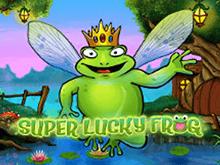 Онлайн-автомат Супер Удачливая Лягушка